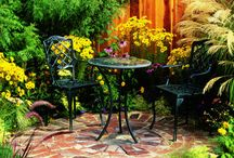 gardens: patios, pergolas, and outdoor rooms