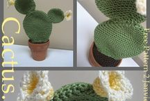 cactus crochetés
