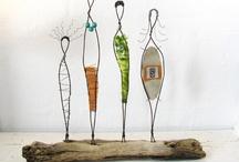 Wire Sculpture and Garden Art