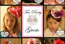 Tea Time! / Kid's birthday tea party / by Kim Shaver