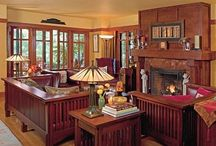 Arts and crafts style, craftsman, mission style, bungalows / by vicki oakland k