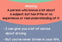 phrases : idioms & sleng