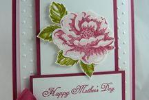 Cards - Stampin Up Blossoms / Stampin Up Stippled blossoms stamps