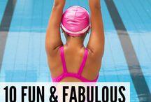 Aquarobics to loose weight