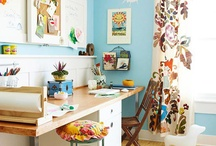 craft room / by Ellie VanSant Forte