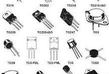 Tranzystory / Tranzystor to półprzewodnikowy element elektryczny , który posiada zdolność do wzmacniania sygnału elektrycznego. Jest on wykorzystywany do wzmacniania słabych sygnałów elektrycznych oraz do przetwarzania informacji w postaci cyfrowej.