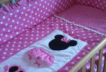 Minnie Mouses Nursery / Minnie mouse baby collection