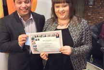 apprenticeship award event / hosted by Crosby Employment at Cafe Indie.