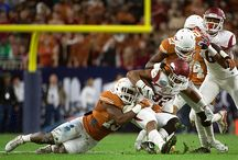 Texas Football vs. Arkansas (Texas Bowl) [Dec. 29, 2014] / Arkansas uses a strong rushing attack and a stifling defense to defeat Texas 31-7 in the AdvoCare V100 Texas Bowl. The Longhorns finish the 2014 season -- Charlie Strong's first as head coach at UT -- with a 6-7 record. / by Texas Longhorns