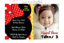 Minnie Mouse Theme Party / minnie mouse party ideas #minniemouse #minniemouseparty #minniemouseprintables / by Sweet Party Nyomi