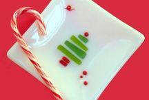 Fused plate with Christmas tree / Christmas tree