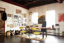 Erins Wasson's New York apartment / Erins Wasson's  vintage New York apartment
