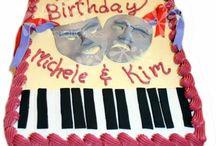 Music Inspired Cakes