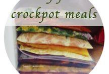 Freezer Meals/Crockpot Meals