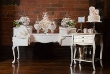 Wedding Decor, Flowers, Sweet Table
