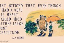 Winnie the Pooh and other quotes