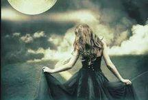 moon and fairies