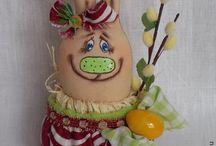 Toys for good mood - Игрушки для хорошего настроения / Funny handmade toys and dolls