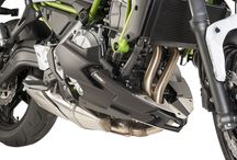 KAWASAKI Z650 '17 / Accessories for Kawasaki z650 2017 by Puig #bikes #moto #motos #motorbikes #Motorcycle #racing #kawasaki
