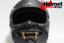 Coolest Helmets / Samurai mask helmet