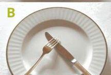 Plassering gaffel osv
