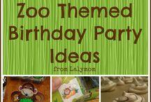 Themed birthdays