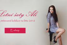 Letní šaty v eshopu www.alionline.cz