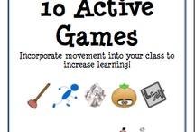 Active games / by Megan Byrne