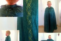 Kostumer / Our first home-made LARP gear, in form of a cloak.