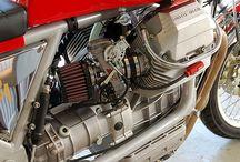 Cafe racer moto guzzi imola v35