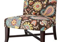Armless Chairs with Character