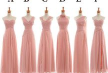 Dusty Pink Dresses Inspiration / An inspiration for me and my girls who always find it difficult when it comes to bridemaids dresses inspiration..  hope this pins helpfull, sista..