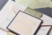Wedding Trend 2016 - Metallic / Bowcliffe Hall Wedding Trends 2016