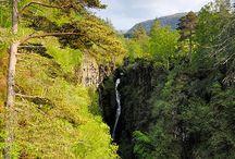 North Coast 500 / 500 mile scenic route in the North Highlands of Scotland