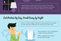 Infografic Sleep Bible by Luxury Eight