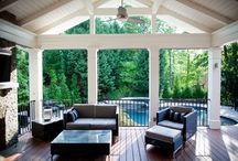Deck/sun room / by Tina Wray