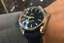 OMEGA James Bond Seamaster Aqua Terra limited edition / https://www.youtube.com/watch?v=EDFYMaTB4og