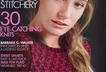 revistas punto y crochet