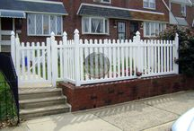 PVC / Vinyl Fence / Commercial and residential PVC / Vinyl Fence from around the Philadelphia area and beyond.