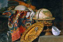 Pieter Boel - Anvers , 1622 - Paris, 1674 / Comme Fyt, il peint des pièces de gibier. Il éxcelle dans le rendu des orfèvreries.