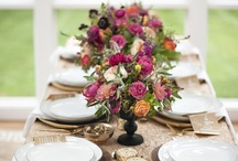 Tablescapes / Lushes tabletops that invite you to stay awhile. / by Jessica Ormond Events