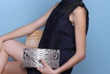 Exotic real clutch / Women's genuine leather clutch
