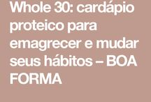 Cardapio whole30