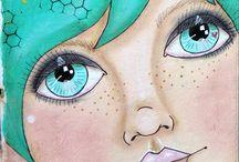 INSPIRATION - Art Dolls & Faces