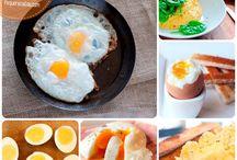 Recetas con huevos!