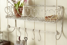country shabby style home decoration