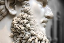 NOUVELLE BARBE / beard and statues