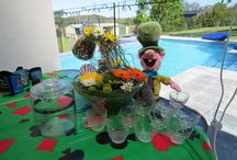 Themed Flower Designs / Floral decore for parties