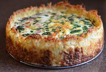 Quiches / Spinach n cheese