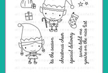 Christmas Cheer stamp set / Reverse Confetti stamp set: Christmas Cheer (Nov 2017)